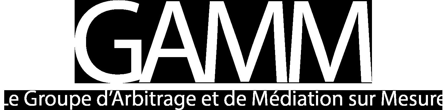 Le GAMM – Groupe d'arbitrage et de médiation sur mesure Logo